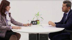 Tinelli se dio el gusto y entrevistó a Cristina