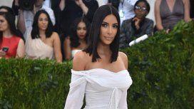 Kim Kardashian en la Gala del MET 2017