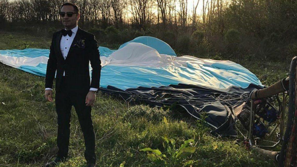 Fabián Medina Flores habló del incidente con el globo aerostático