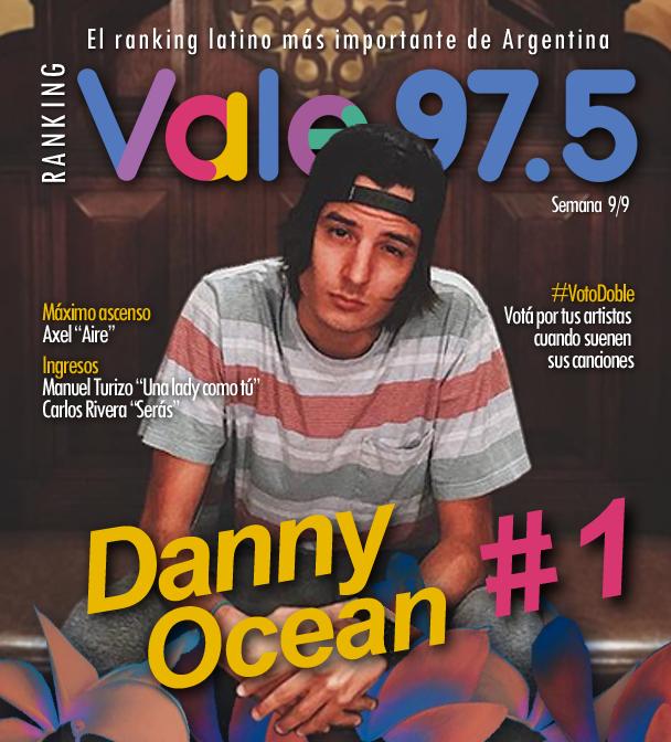 Danny Ocean sigue en lo más alto del Ranking Vale