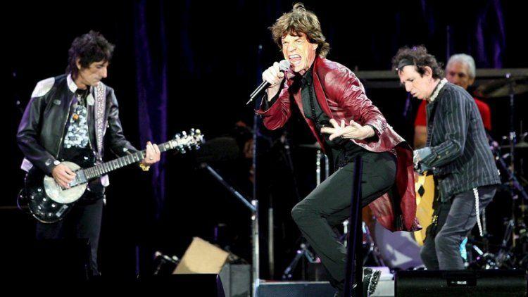 The Rolling Stones en su última visita a la Argentina
