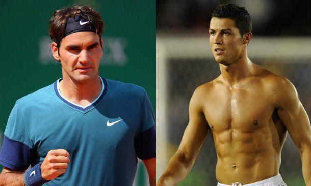 ¿Si fuera mujer? Federer y CR7 para Toti<br>