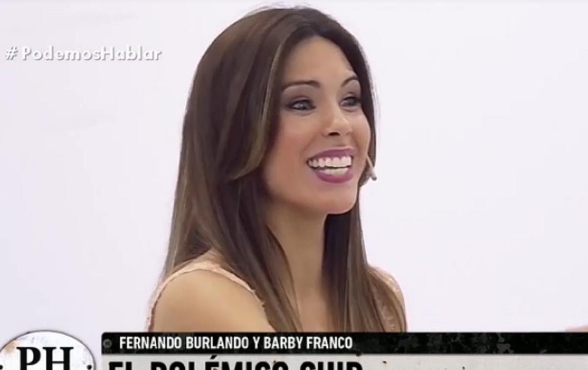 Los divertidos reclamos económicos de Barby Franco a Fernando Burlando