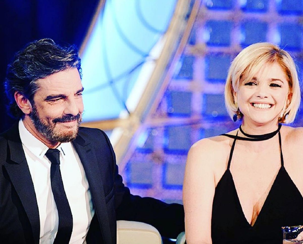 Fabián Mazzei y Araceli González