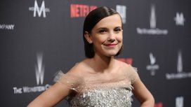 Millie Bobby Brown tras los Emmy 2017