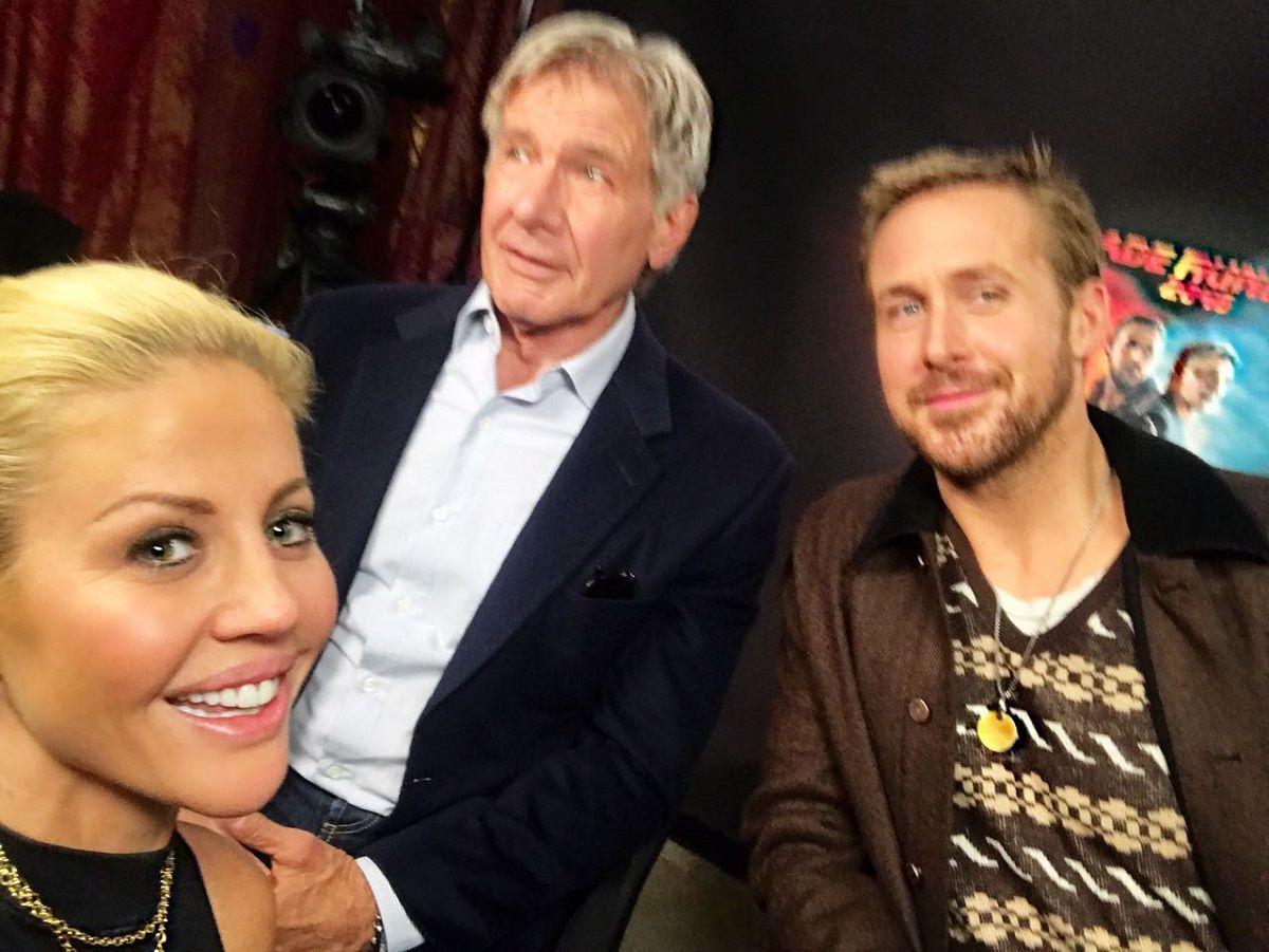 Harrison Ford y Ryan Gosling, a solas con C5N