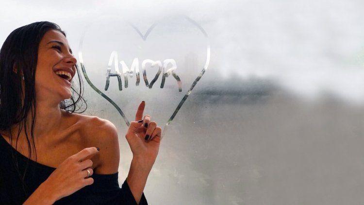 Andrea Rincón, enamorada