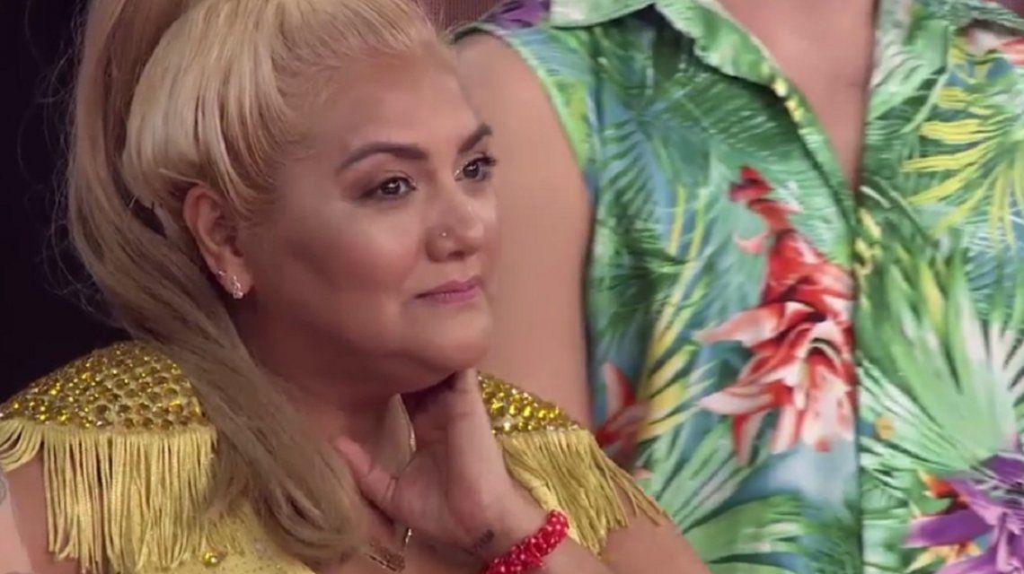 El gesto de Gladys La Bomba Tucumana contra Nai Awada que hizo estallar de risa a Tinelli