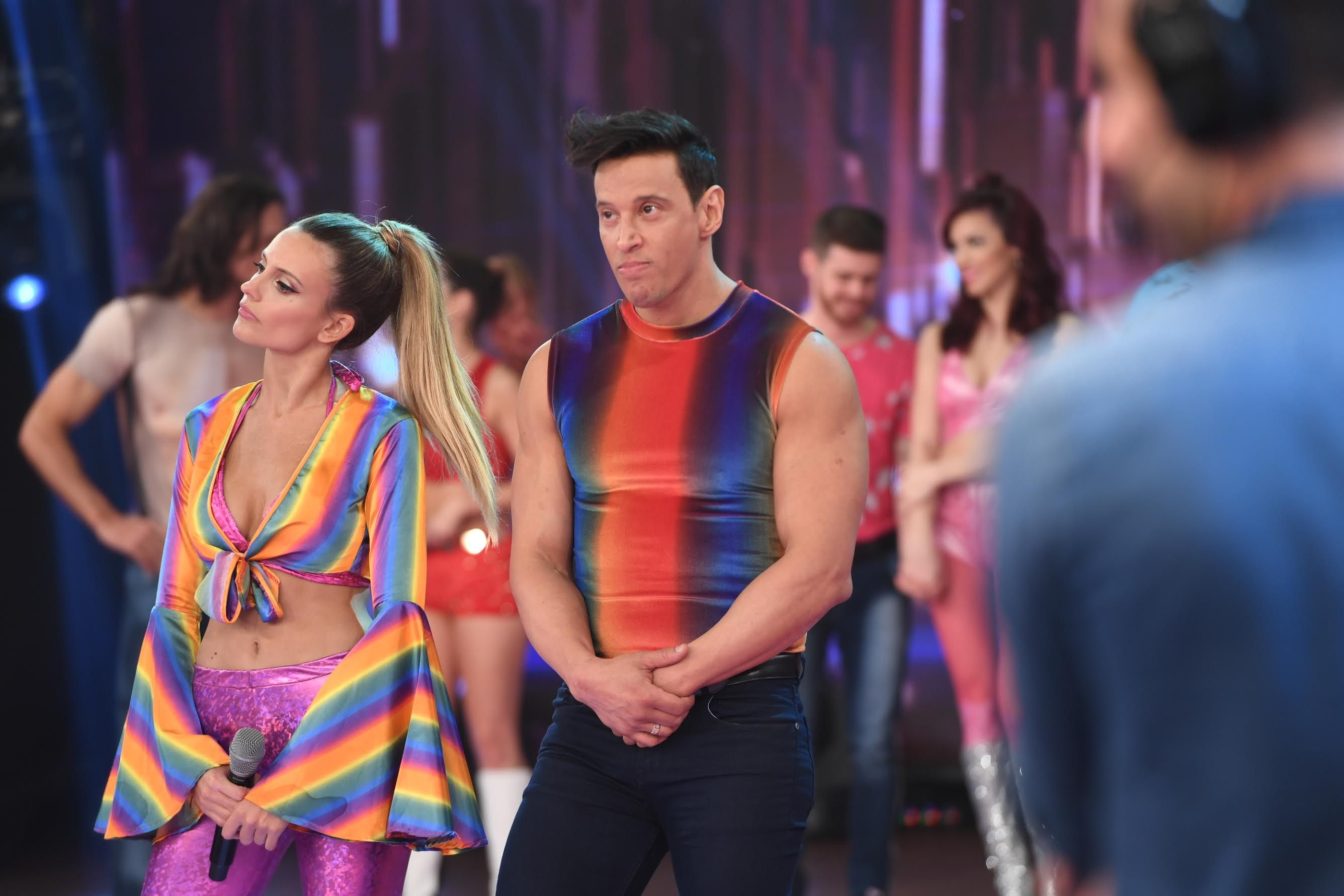 Melina Lezcano y Joel Ledesma