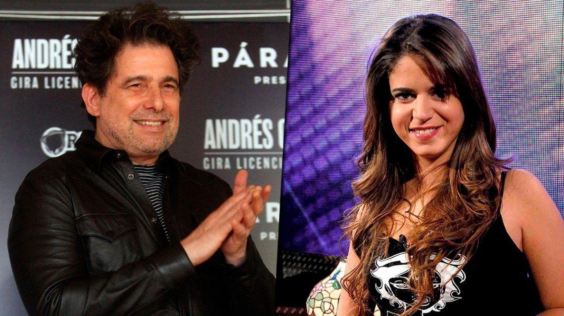 Andrés Calamaro y Marianela Mirra