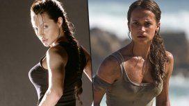 Angelina Jolie y Alicia Vikander, las Lara Croft del cine