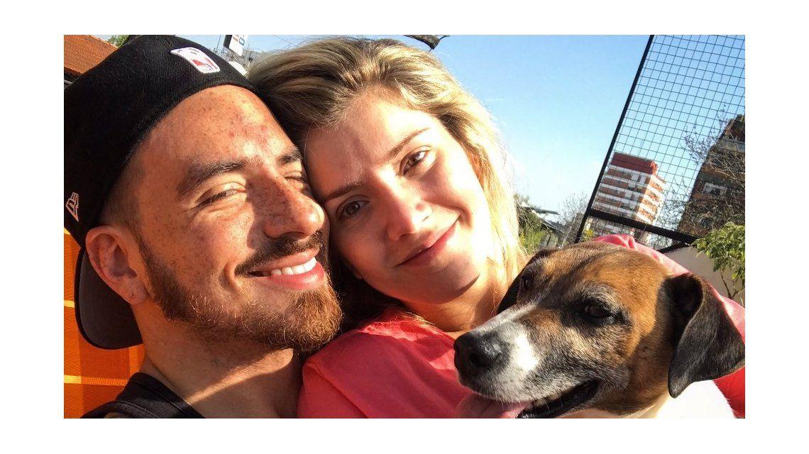 Fede Bal publicó una foto con Laurita sin filtros ni maquillaje