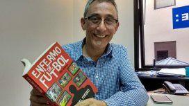 Daniel Frescó, autor de Enfermo de fútbol
