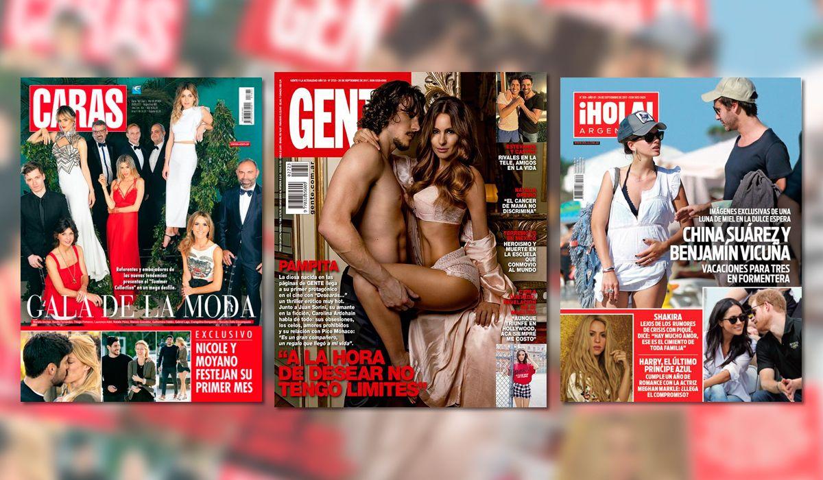Las tapas de revistas