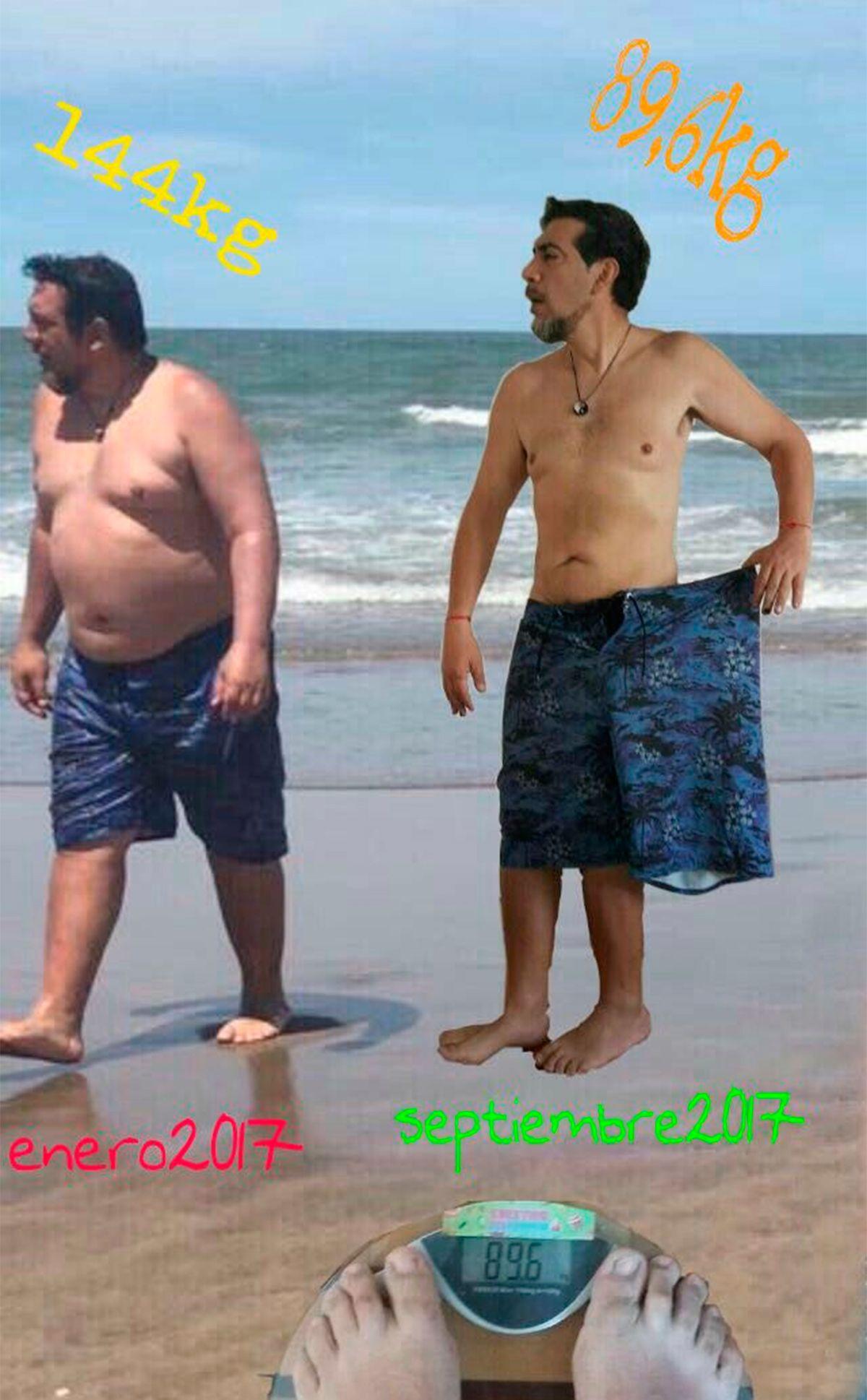 El antes y el después de Pato Galván