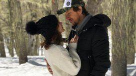 Las fotos románticas de Nico Vázquez y Gimena Accardi en la Cordillera