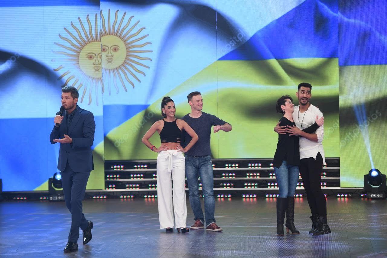 ShowMatch: Tinelli se animó a dar unos pasos de chachachá