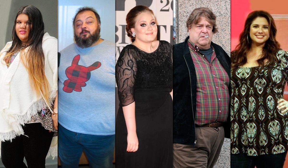 La transformación de los famosos