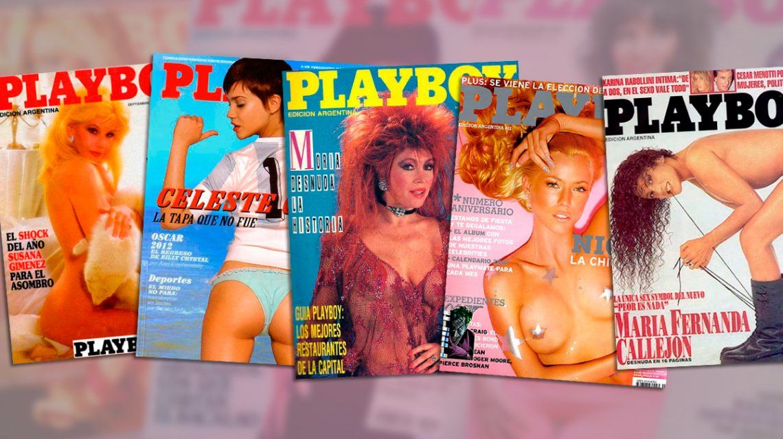 El legado de Hugh Hefner: las mejores tapas de Playboy en Argentina