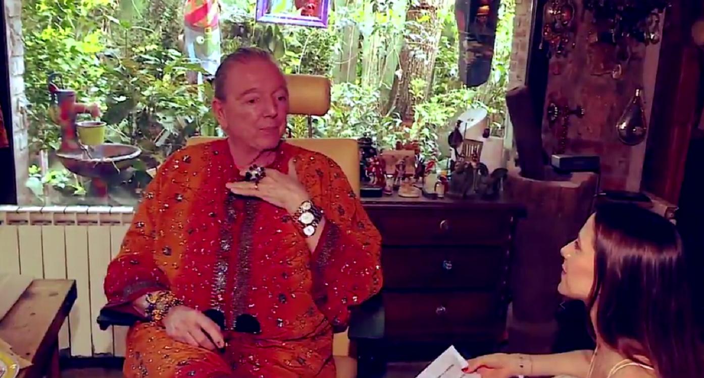 Pepe Cibrian mostró su casa zen: Hablo con todas las plantas, las abrazo y mimo