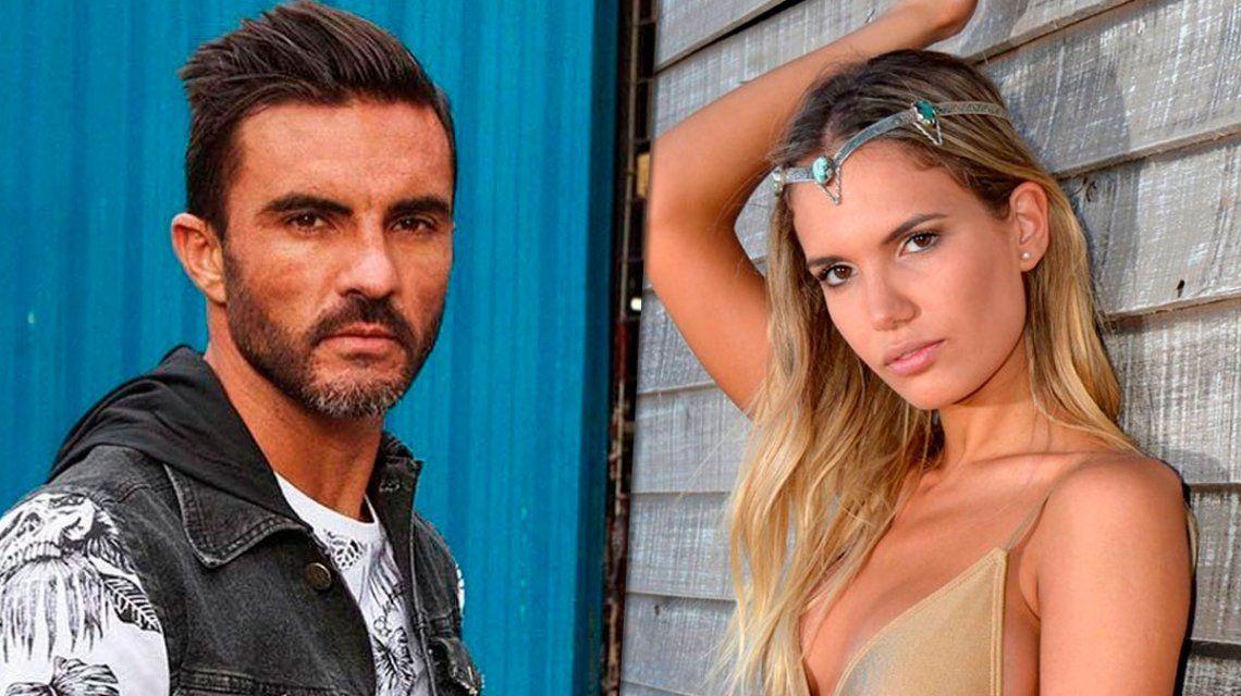 Poroto Cubero y la ex de Moyano