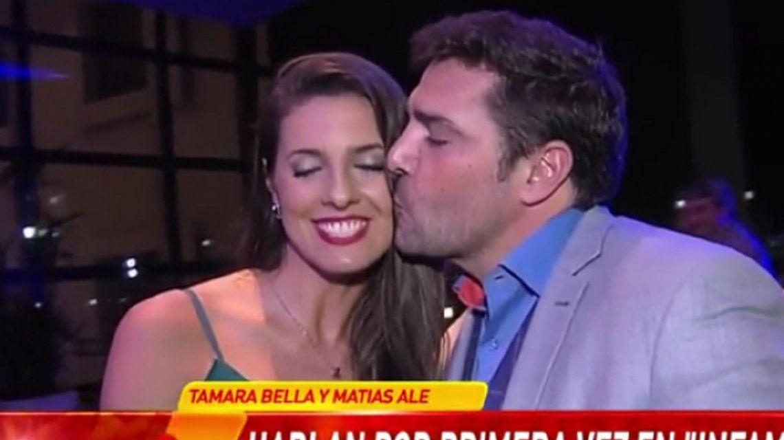 Matías Alé confirmó su noviazgo con Tamara Bella: Nos encantamos