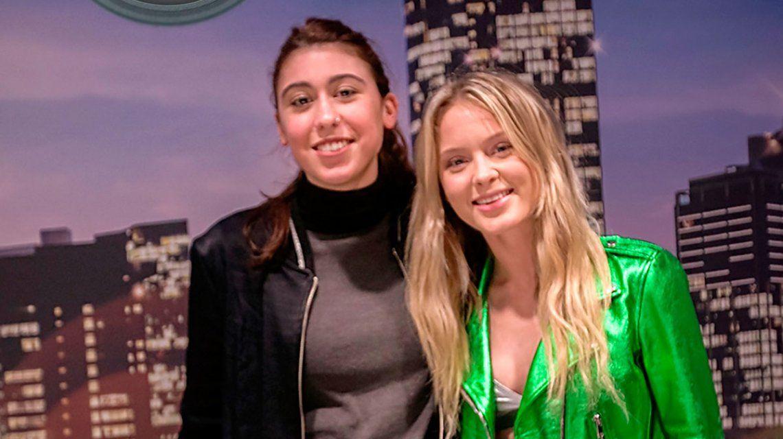 El look de Rosario Ortega y Renata Repetto junto a Zara Larsson