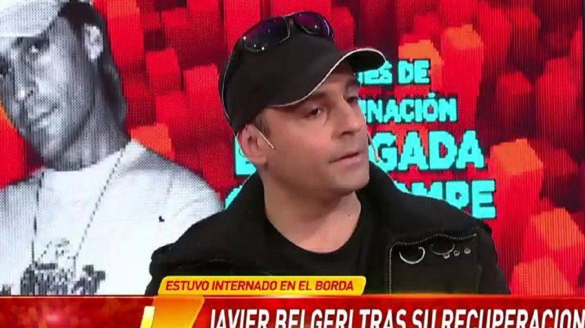 Javier Belgeri , Nico, de Brigada Cola, reapareció tras su internación en el Borda