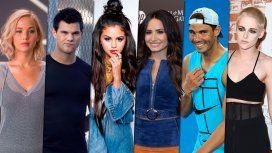 Las celebrities que viven con sus familiares