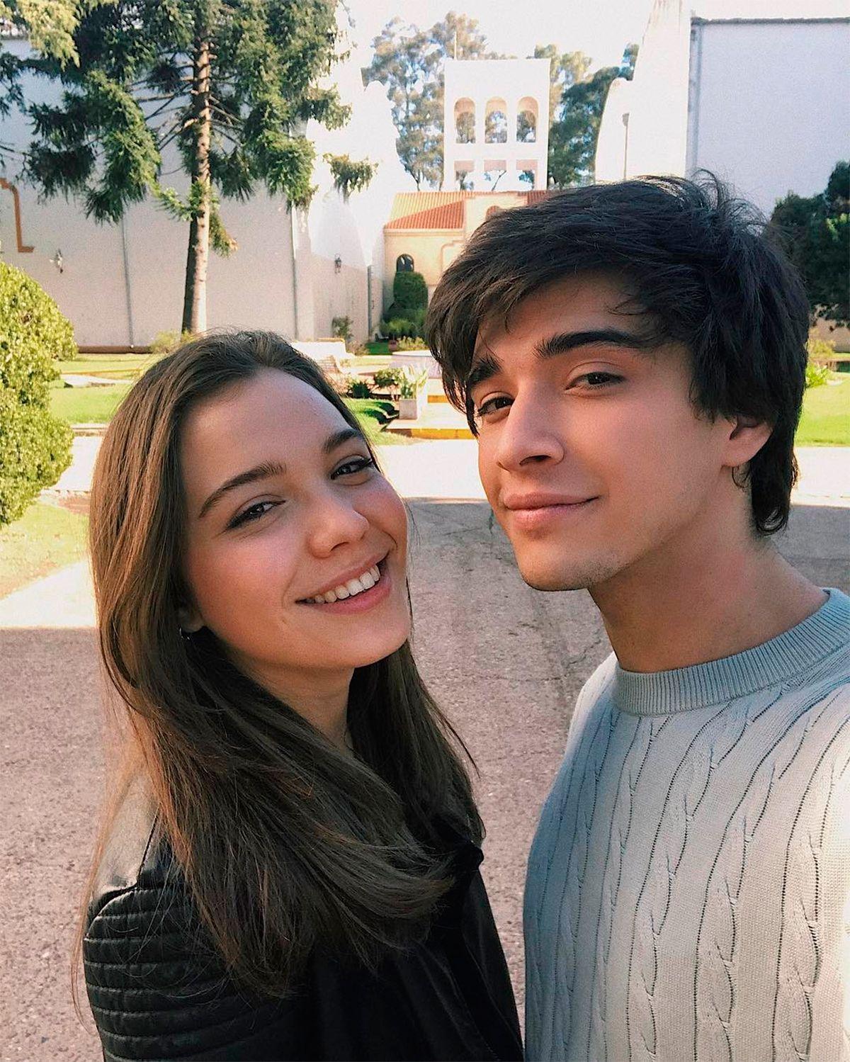 Julián Serrano y Malena Narvay