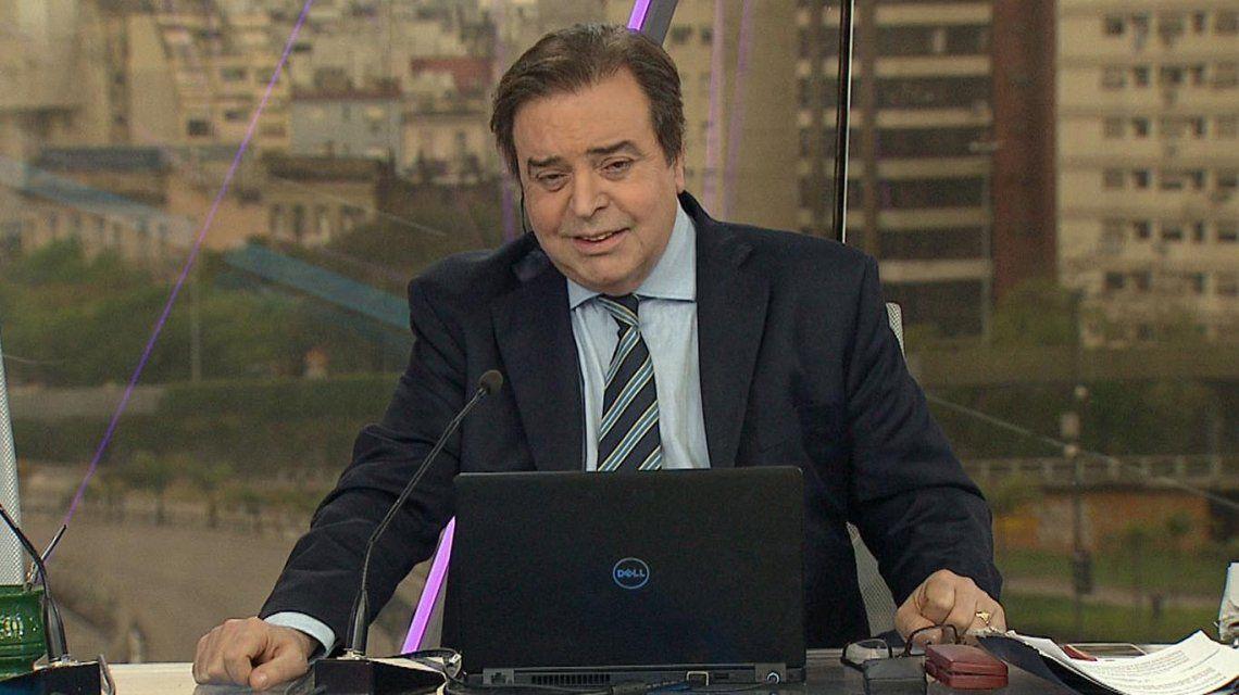Las imágenes del último adiós a Edgardo Antoñana y cómo seguirá el noticiero