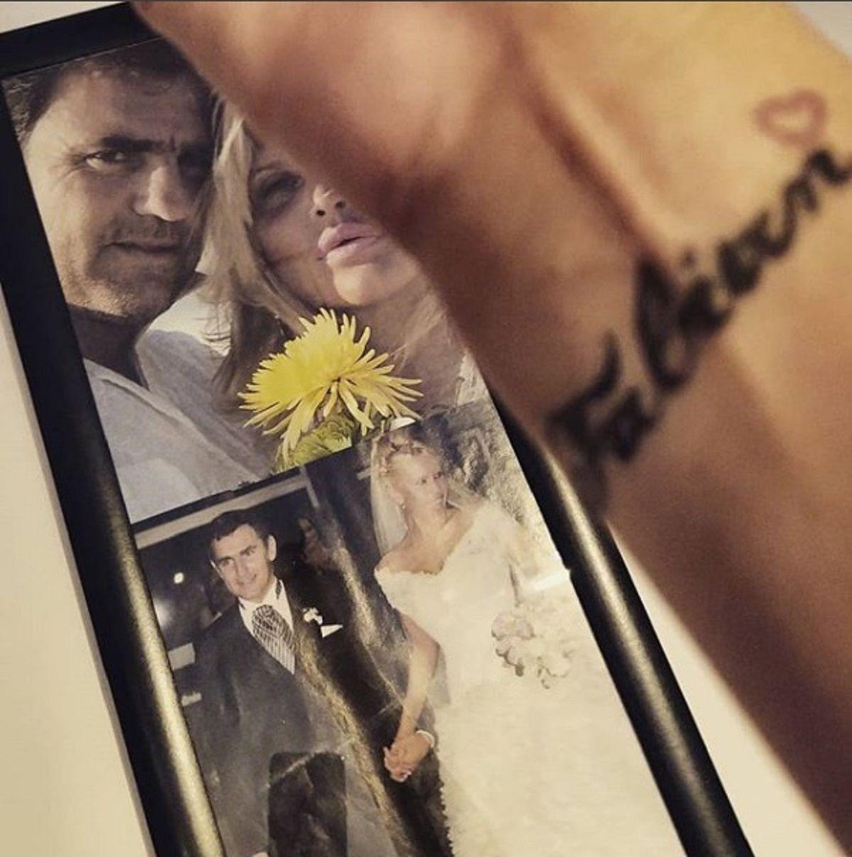 Fabián y Nazarena se habían casado el 6 de octubrede 2012
