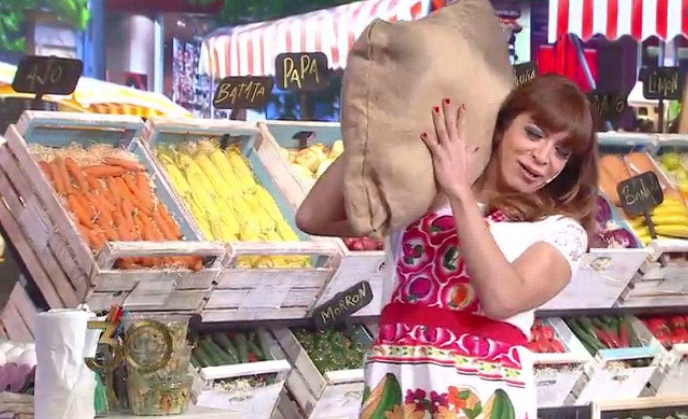 Lizy Tagliani en La Verdulería