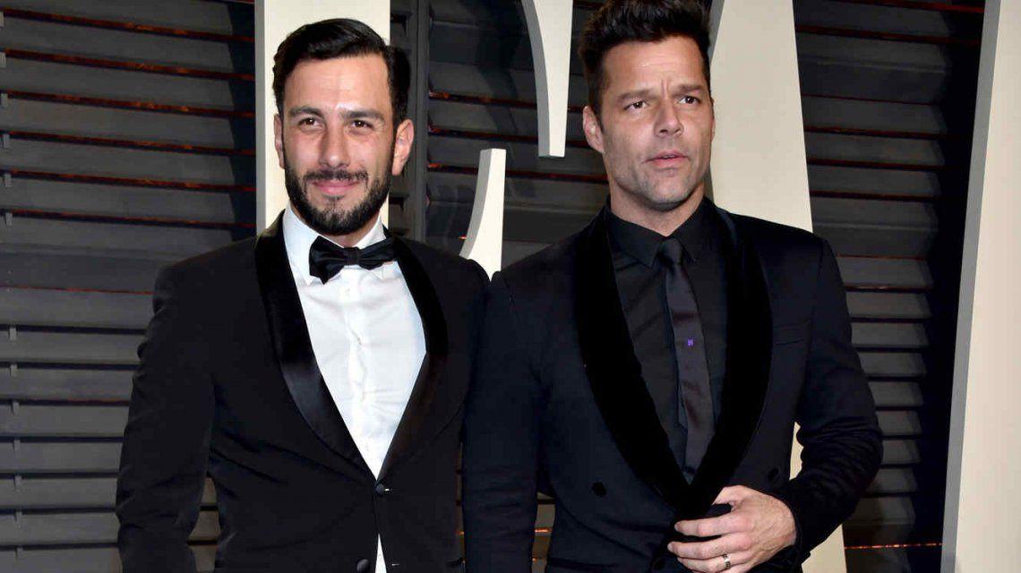 El casamiento de Ricky Martin