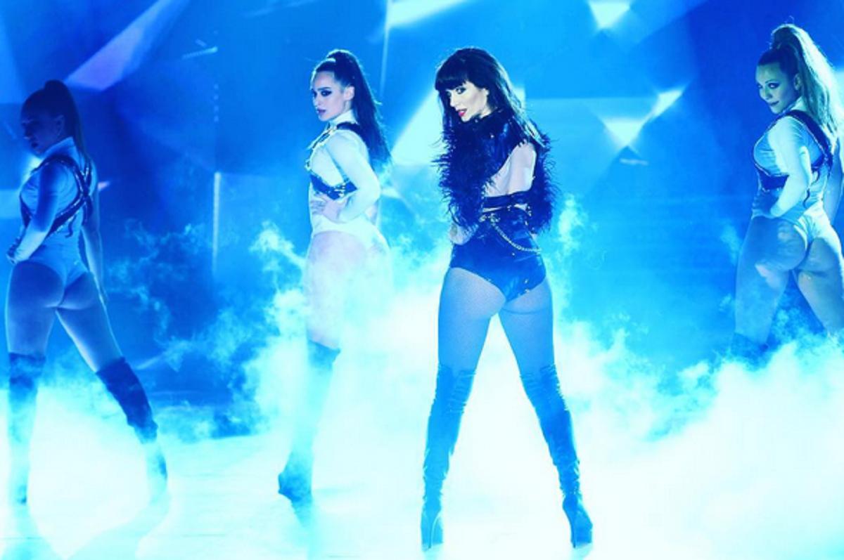 Griselda Siciliani, invitada especial de ShowMatch: mirá su sensual coreo para abrir el ritmo libre
