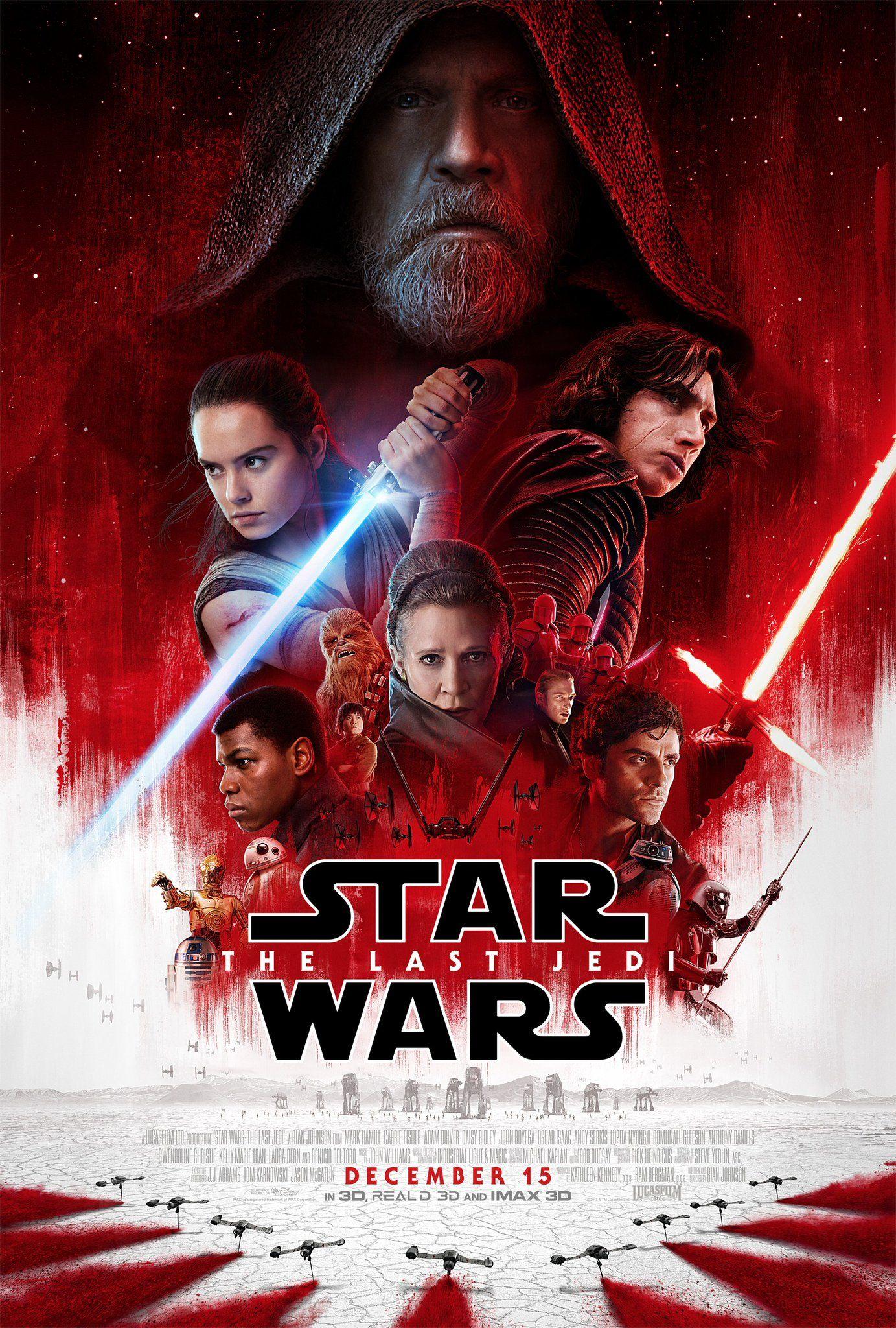 Poster de Star Wars The Last Jedi
