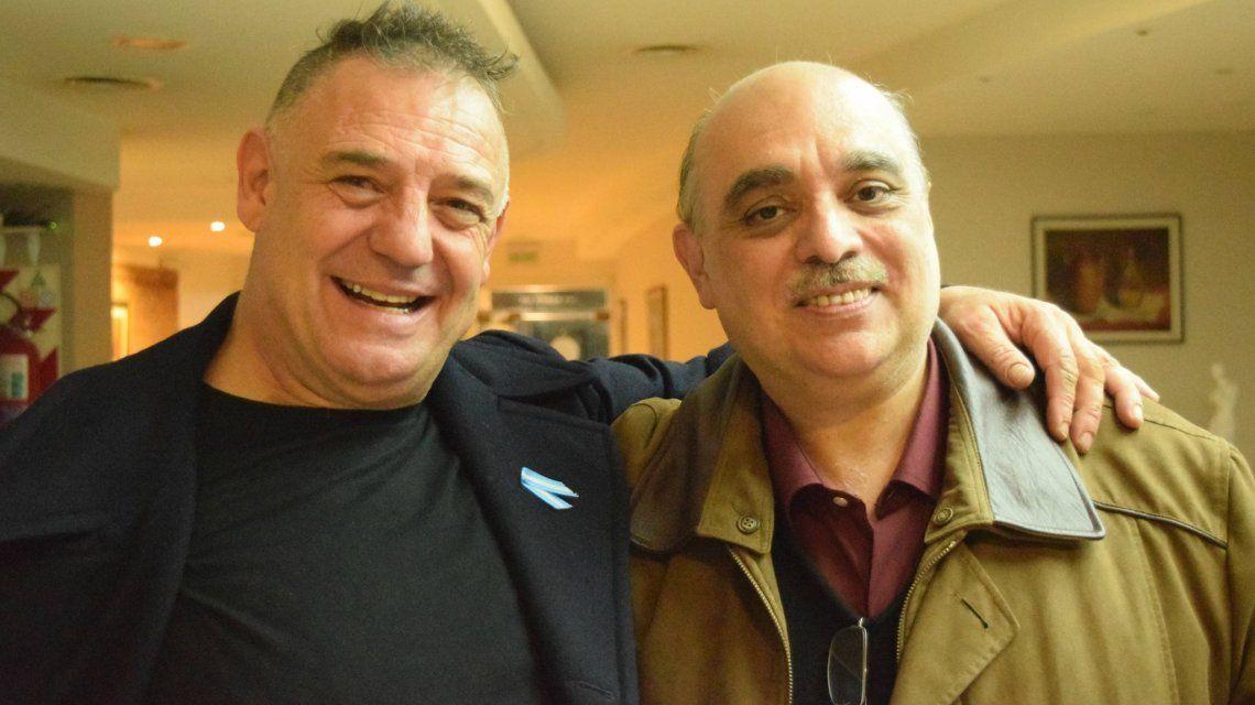 Ricardo Iorio con Alejandro Biondini