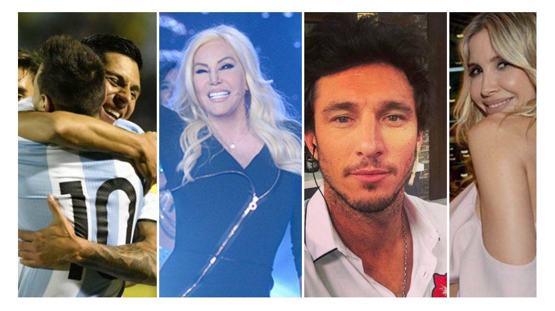 Argentina está adentro del Mundial y los famosos enloquecieron por Messi