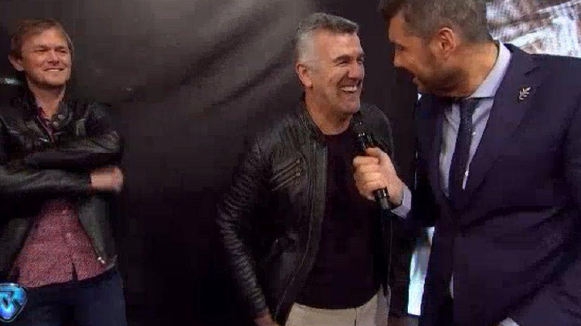 ¿Qué dirá Diego? El cara a cara de Tinelli con el novio de Claudia en vivo
