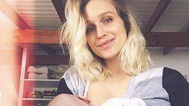 Brenda Gandini reveló sus dificultades para amamantar a su hija