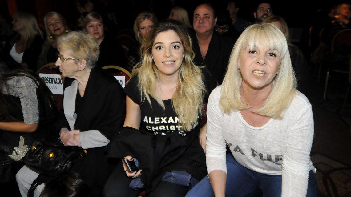 Dalma Maradona y Claudia Villfañe