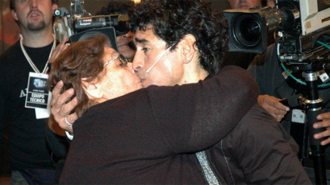 Diego Maradona y La Tota