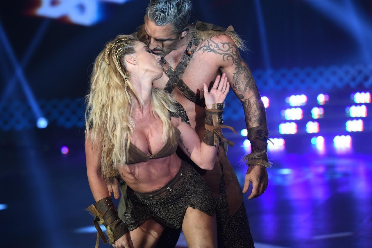 Rocío Guirao Díaz y Nicolás Paladini hicieron de Vikingos