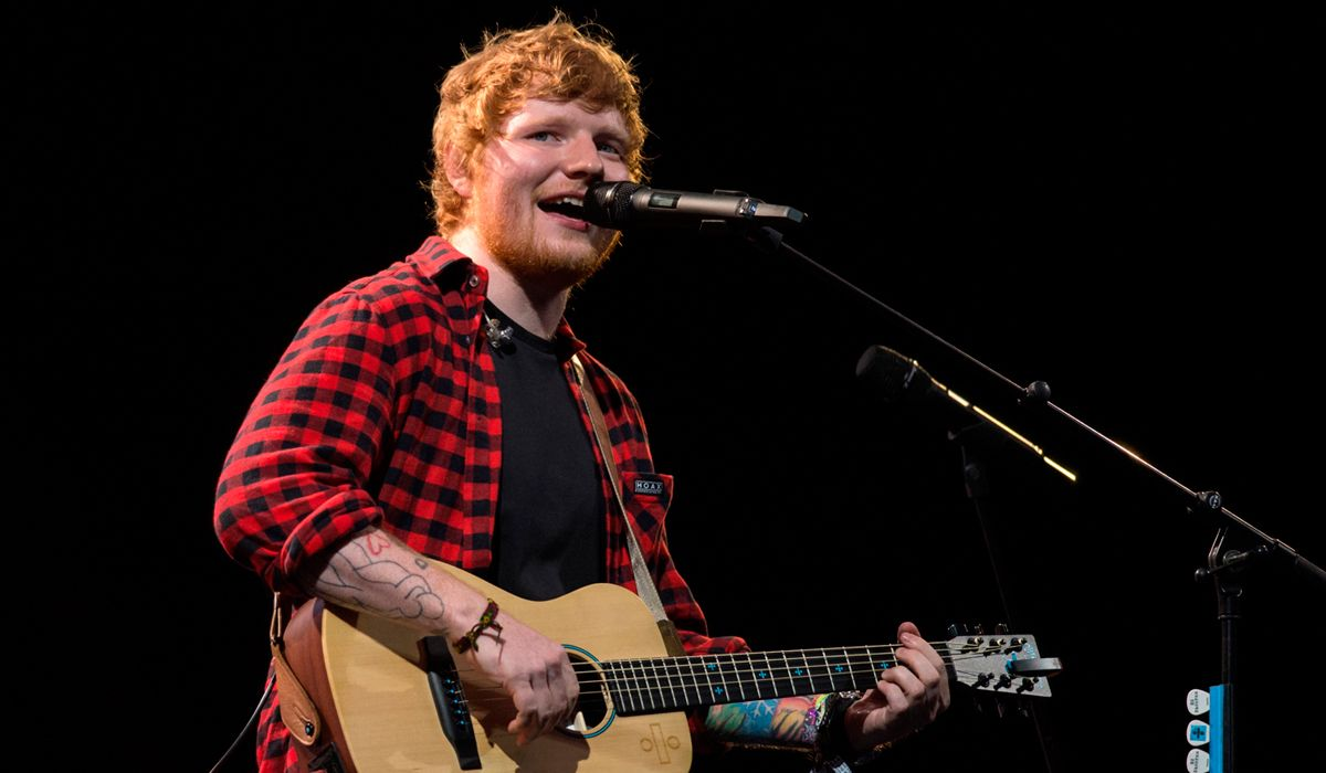Ed Sheeran accidentado