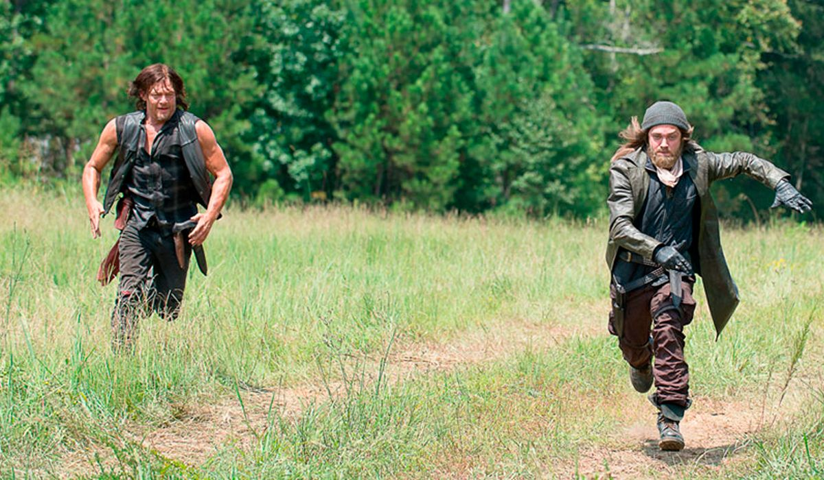 Daryl y Jesus en The Walking Dead