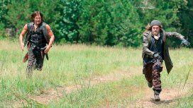 Daryl y Jesus en The Walking Dead