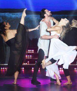 Imponente coreo de Piquín y Macarena tras el fuerte accidente en el ensayo