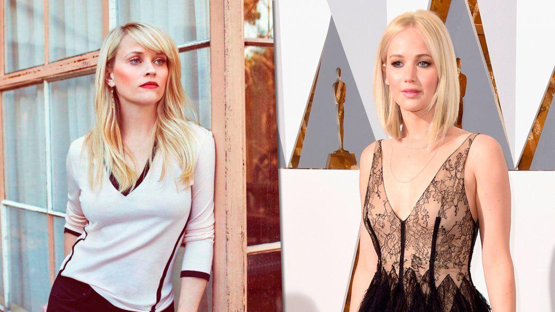 Whiterspoon y Lawrence denunciaron acosos de productores y directores de Hollywood