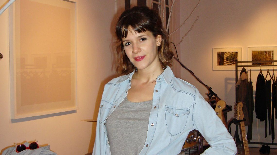 Violeta Urtizberea se mostró como nunca
