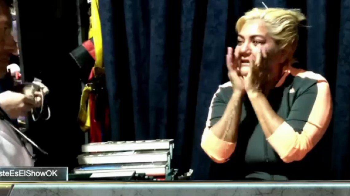 La Bomba Tucumana, al borde del colapso: el video de su ataque de nervios